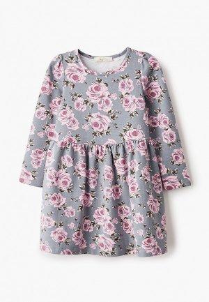 Платье Juno. Цвет: серый
