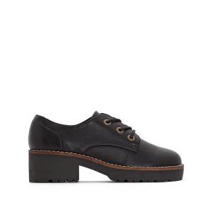 Ботинки-дерби на каблуке Cherblu COOLWAY. Цвет: черный
