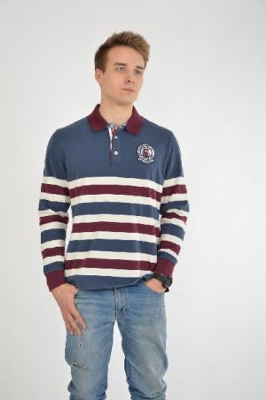 Рубашка-поло Galvanni. Цвет: разноцветный