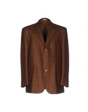 Пиджак SANREMO. Цвет: коричневый