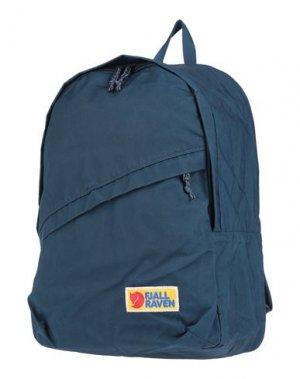 Рюкзаки и сумки на пояс FJALLRAVEN. Цвет: грифельно-синий