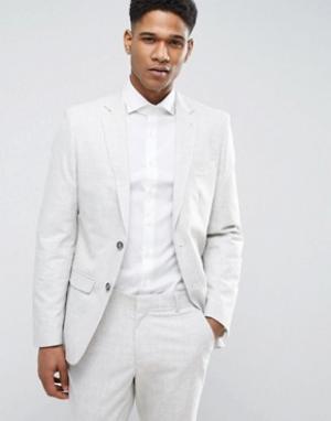 Пиджак New Look. Цвет: серый