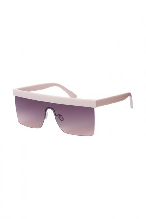 Очки солнцезащитные Fabretti. Цвет: розовый