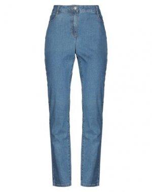 Джинсовые брюки BARBARA LEBEK. Цвет: синий