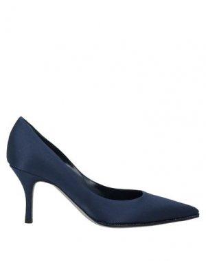 Туфли RENE' CAOVILLA. Цвет: темно-синий