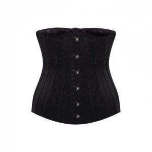 Шелковый корсет Dolce & Gabbana. Цвет: чёрный