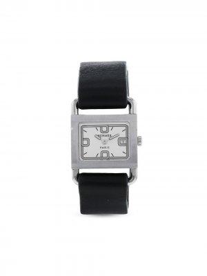 Наручные часы Barenia pre-owned 25 мм 1990-х годов Hermès. Цвет: белый