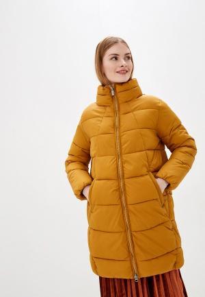 Куртка утепленная b.young. Цвет: желтый