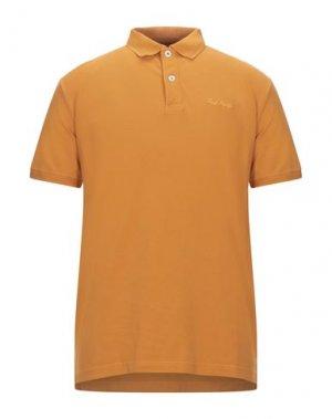 Поло FRED MELLO. Цвет: оранжевый