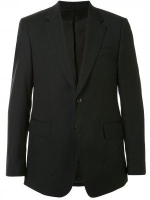 Однобортный пиджак Cerruti 1881. Цвет: черный