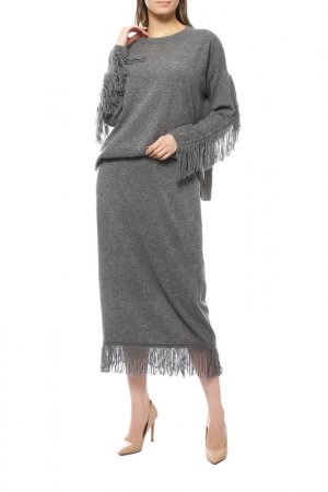 Пуловер Marina Rinaldi. Цвет: серый