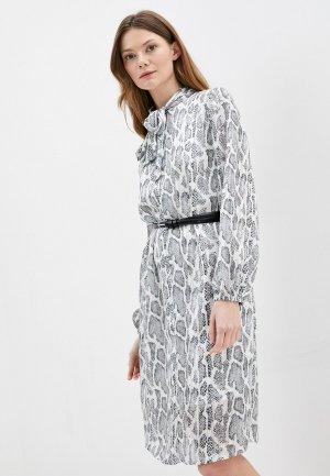 Платье Kira Plastinina. Цвет: серый