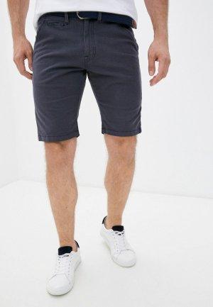 Шорты Indicode Jeans. Цвет: серый