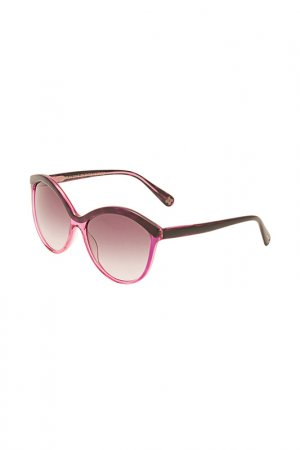 Очки солнцезащитные Enni Marco. Цвет: фиолетовый, разноцветный