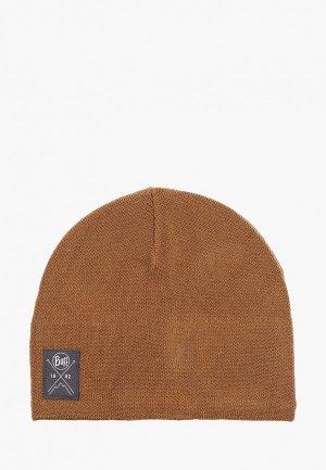 Шапка Buff Knitted&Polar Hat. Цвет: коричневый