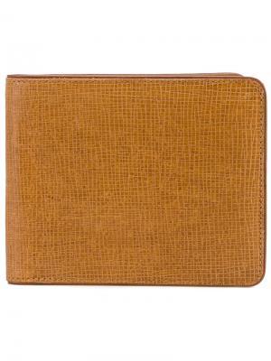 Классический бумажник Dries Van Noten. Цвет: коричневый