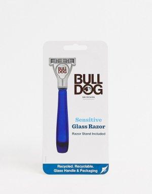 Бритва со стеклянной ручкой Sensitive-Бесцветный Bulldog