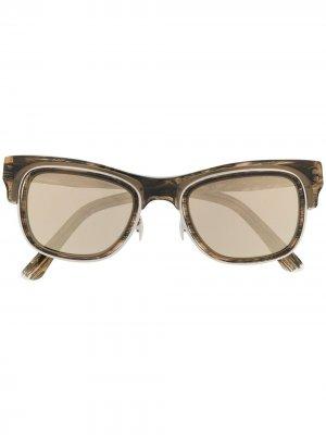 Солнцезащитные очки M1141 WG Cutler & Gross. Цвет: коричневый