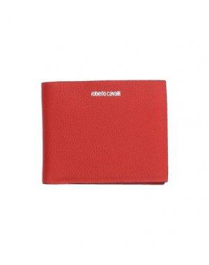 Бумажник ROBERTO CAVALLI. Цвет: коралловый