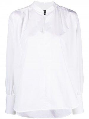 Блузка Carly Poplin Rag & Bone. Цвет: белый