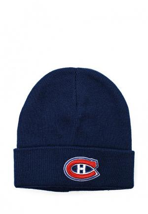 Шапка Atributika & Club™ NHL Montreal Canadiens. Цвет: синий