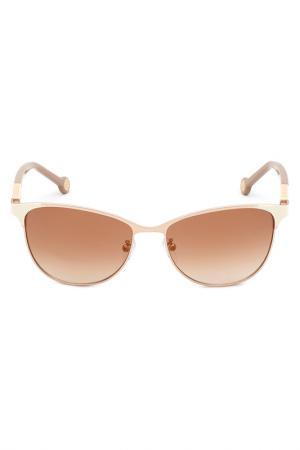 Солнцезащитные очки Carolina Herrera. Цвет: none
