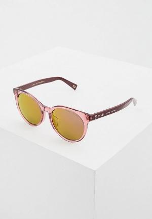 Очки солнцезащитные Marc Jacobs 344/F/S LHF. Цвет: розовый