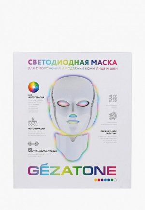 Массажер для лица Gezatone m1090. Цвет: белый