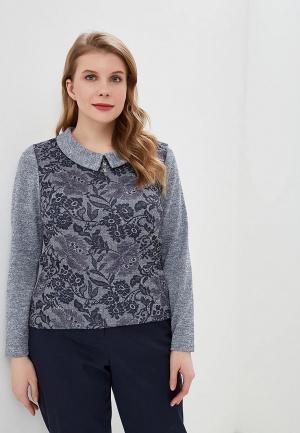 Блуза Forus. Цвет: серый