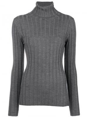 Perfectly fitted sweater Aspesi. Цвет: серый
