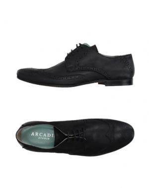 Обувь на шнурках ARCADIA. Цвет: черный