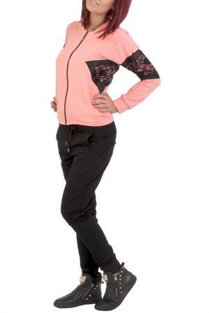Пуловер JUNONA. Цвет: розовый