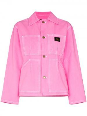 Джинсовая куртка Marc Jacobs. Цвет: розовый
