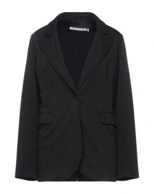 Пиджак EUROPEAN CULTURE. Цвет: черный
