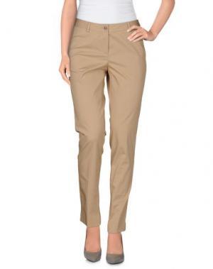 Повседневные брюки A.B.. Цвет: песочный