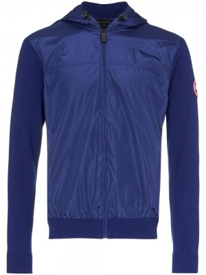Куртка Windbridge с капюшоном Canada Goose. Цвет: синий