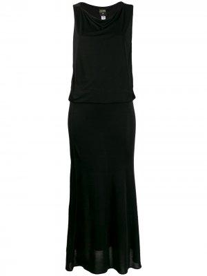 Вечернее платье 2000-х годов Jean Paul Gaultier Pre-Owned. Цвет: черный