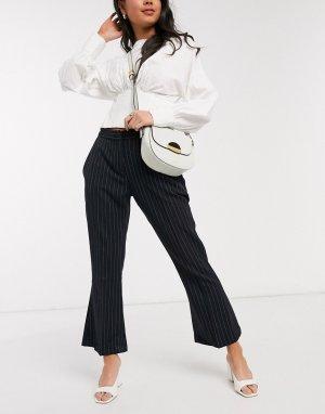 Расклешенные брюки Closet-Черный Closet London