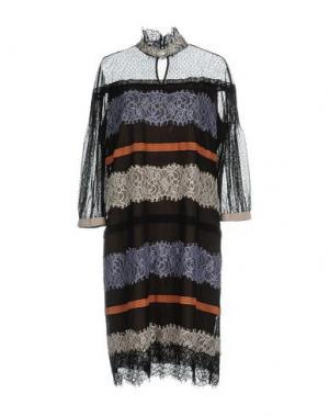 Короткое платье CLIPS. Цвет: черный