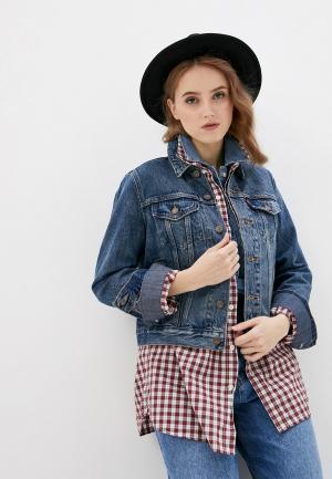 Куртка джинсовая Levis® Levi's® ORIGINAL TRUCKER. Цвет: синий