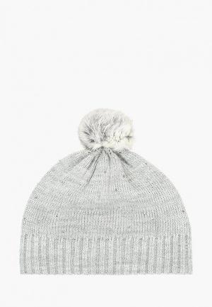 Шапка Acoola. Цвет: серый