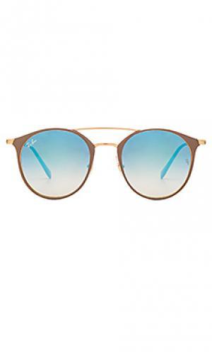 Солнцезащитные очки 0rb3546 Ray-Ban. Цвет: серо-коричневый