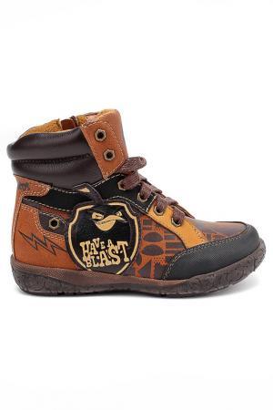 Ботинки Angry Birds. Цвет: коричневый