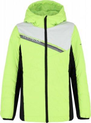 Куртка утепленная для мальчиков , размер 158 Nordway. Цвет: зеленый