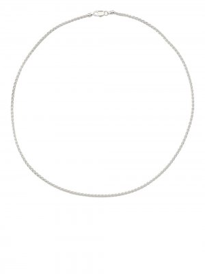 Rope-chain necklace Hatton Labs. Цвет: серебристый