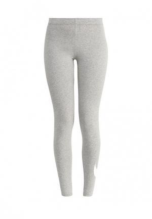Леггинсы Nike WOMENS SPORTSWEAR LEGGING. Цвет: серый