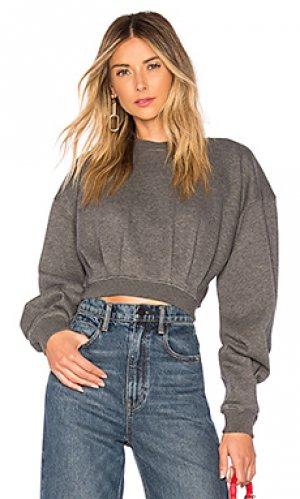 Пуловер jack LAcademie L'Academie. Цвет: серый