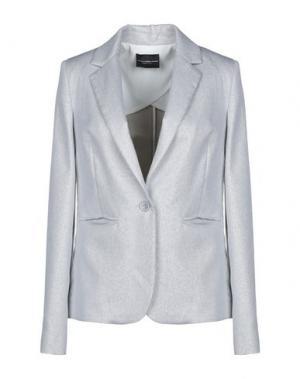 Пиджак ATOS LOMBARDINI. Цвет: серебристый