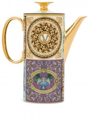 Кофейник Barocco Mosaic (1.2 л) Versace Tableware. Цвет: фиолетовый