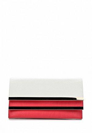 Клатч Dino Ricci DI004BWAXU83. Цвет: белый, розовый